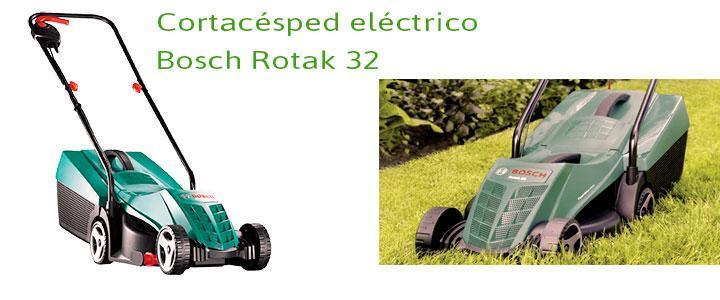 Cortacésped Bosch Rotak 32