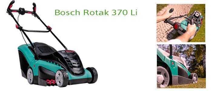 Cortacésped Bosch Rotak 370 Li