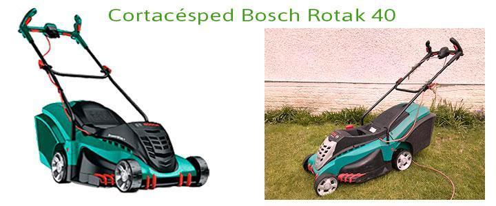 Cortacésped Bosch Rotak 40