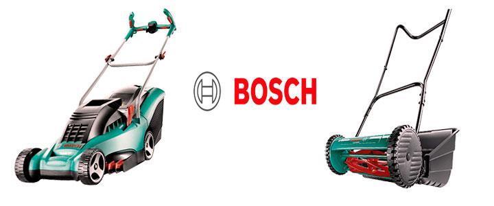 Cortacésped Bosch eléctricos y a batería