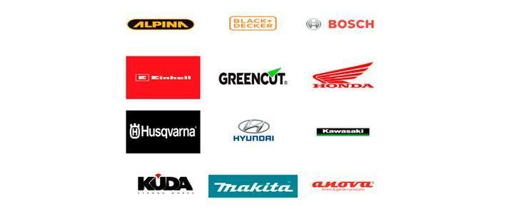 Marcas de cortacésped de gasolina, eléctricos y a batería