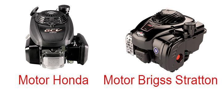 Cortacésped a gasolina con motor Honda y Briggs Stratton