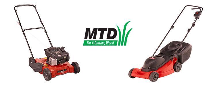 Cortacésped MTD, catálogo de precios