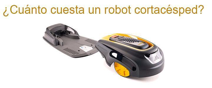 Robot cortacésped precios