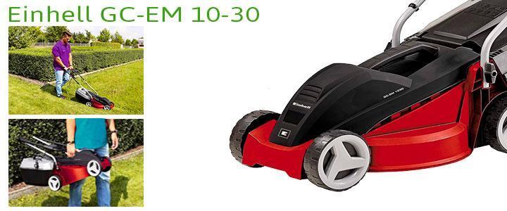 Einhell GC-EM 1030, cortacésped eléctrico de 1000W