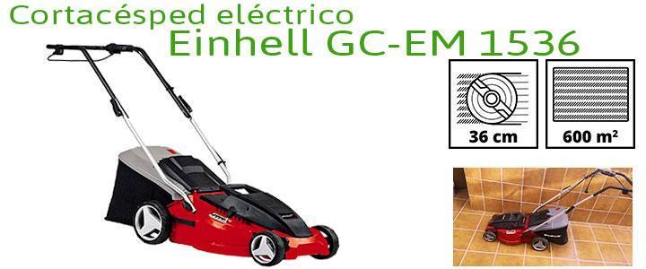 Einhell GC-EM 1536, precio cortacésped eléctrico