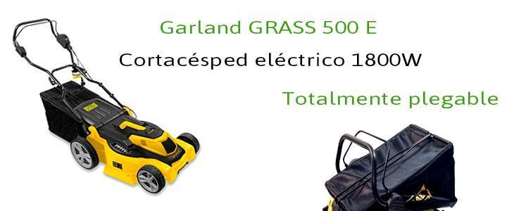 Garland GRASS 500 E, cortacéspd eléctrico con 1800W