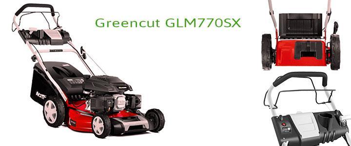 Cortacésped Greencut GLM770SX