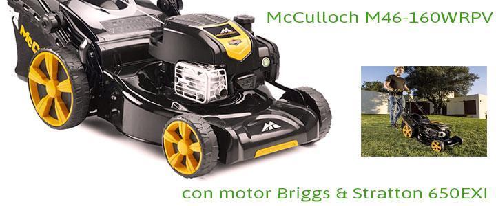 McCulloch M46-160WRPV con motor Briggs & Stratton 650EXI