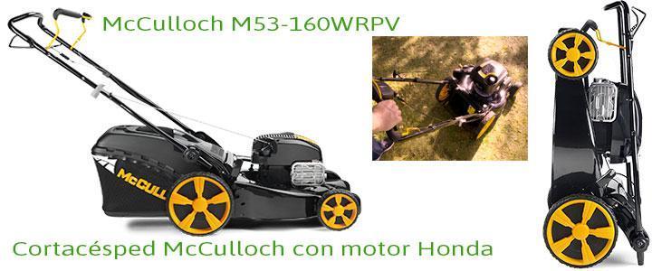 Cortacésped McCulloch M53-AWRPX con motor Honda