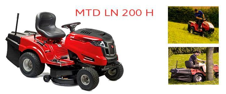 Tractor cortacésped MTD LN 200 H