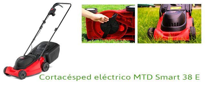 MTD Smart 38 E 1400W, cortacésped eléctrico