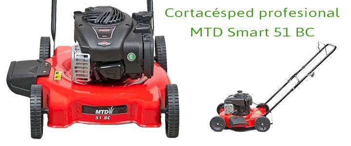MTD Smart 51 BC, cortacésped mulching Briggs & Stratton serie 450 E