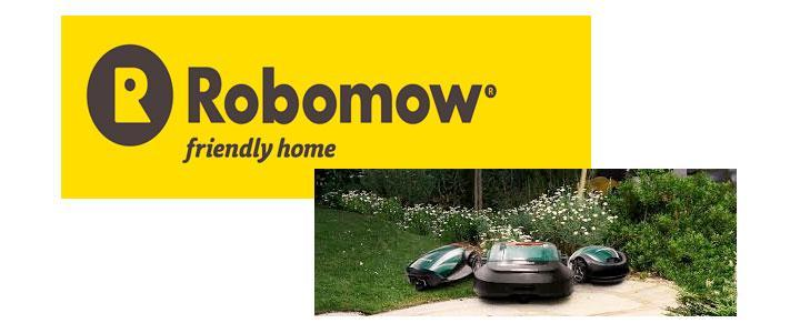 Marca Robomow de herramientas de jardinería y cortacéspedes robóticos