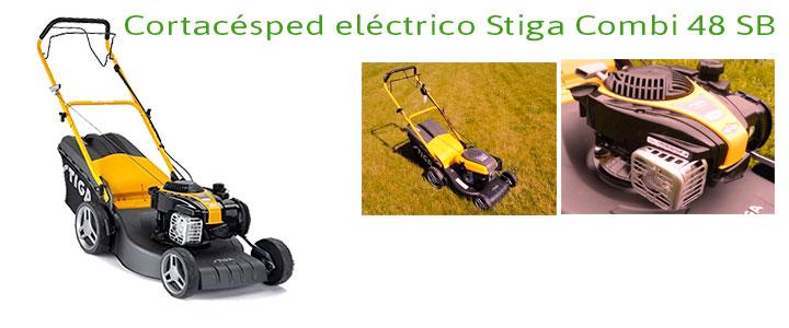 Cortacésped eléctrico Stiga Combi 48 SB