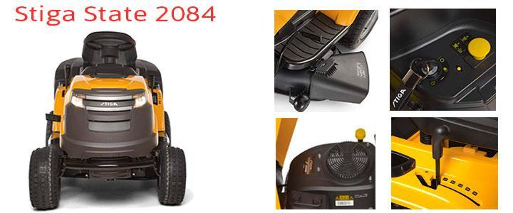 Stiga State 2084 H, precio de tractores cortacésped