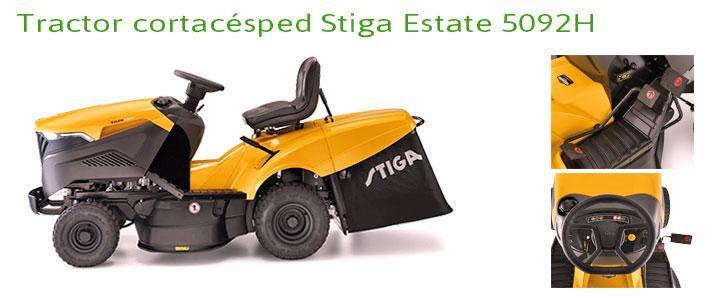 Tractor cortacésped Stiga Estate 5092H