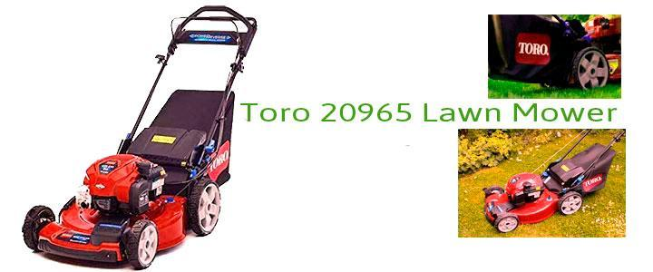 Toro 20965 Lawn Mower