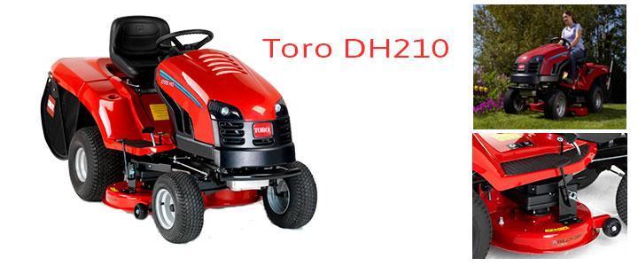 Toro DH210, características y prcio cortacésped tractor