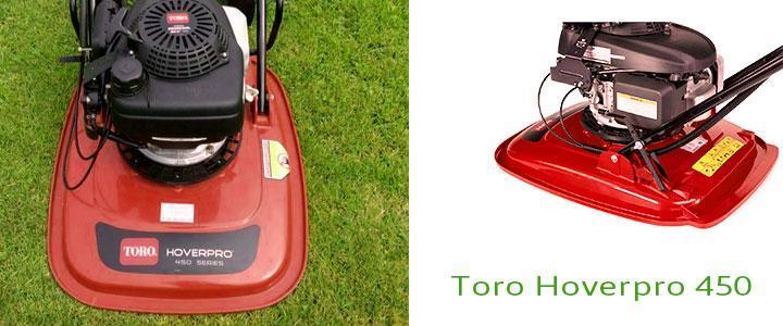 Cortacésped Toro Hoverpro 450